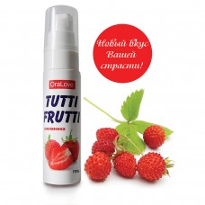 Гель Tutti-Frutti земляника OraLove 30 г