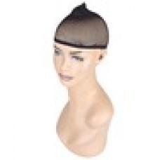 Черная сетка для волос под парик