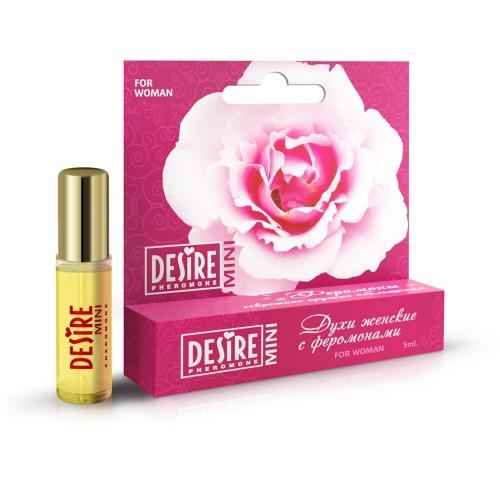 Женственные духи на масляной осное Desire №17 женские 5 мл