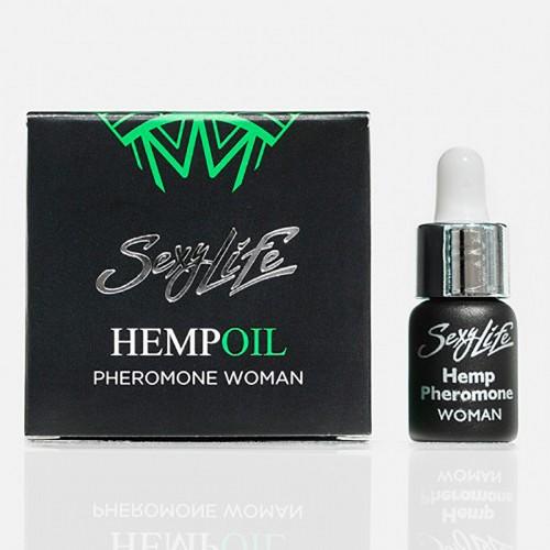 "Духи ""Sexy Life"" с феромонами ""Hempoil"" женские , 5 мл"