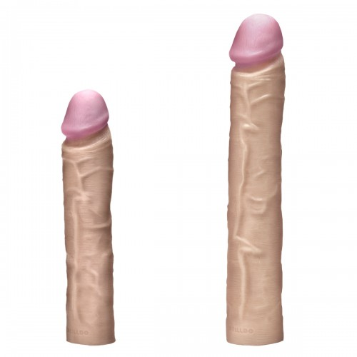 Секс набор DRILLDO DELUXE с двумя членами 7 предметов