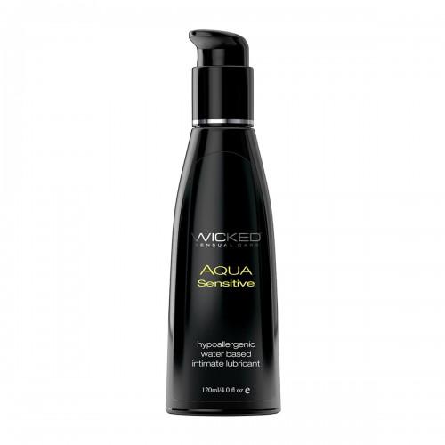 Мягкий лубрикант WICKED AQUA Sensitive 120 ml