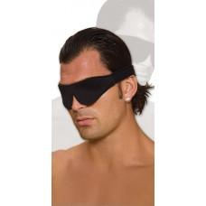 Черная мягкая маска на глаза