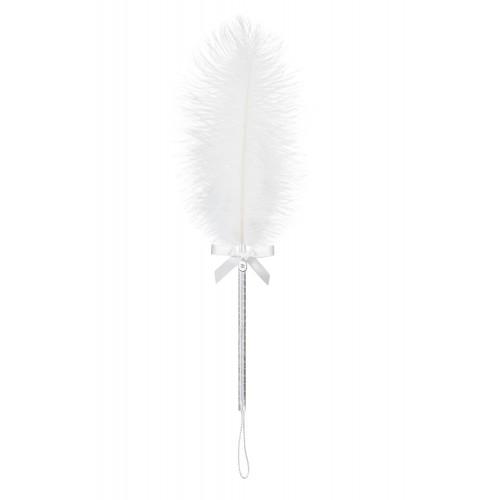 Белое перо для ласк A 716