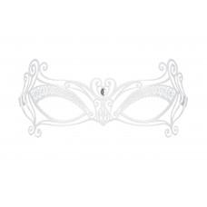 Белая ажурная маска A 703 Mask