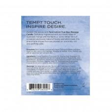 Свеча для массажа с феромонами Pure Instinct True Blue 147 г