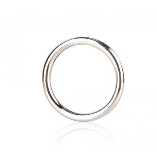 Стальное эрекционное кольцо 4,5 см STEEL COCK RING