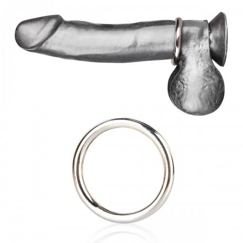 Стальное эрекционное кольцо 5,5 см STEEL COCK RING