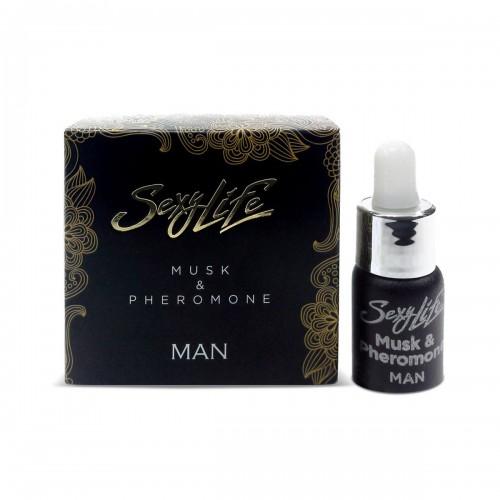 Духи концентрированные Sexy Life Musk & Pheromone man для мужчин 5 мл