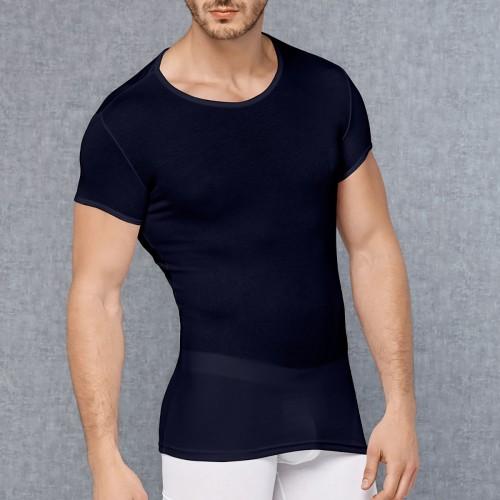 Темно-синяя футболка DOREANSE