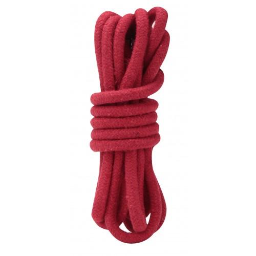 Красная хлопковая веревка 3 м для связывания