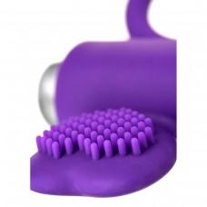 Фиолетовое кольцо с вибрацией JOS Pery