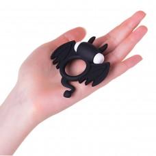 Эрекционное кольцо JOS Cocky Devil черный