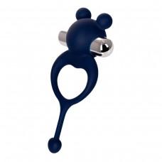 Виброкольцо с хвостиком JOS MICKEY синий