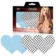 Голубые и серебристые пэстисы-сердца TRUE BLUE