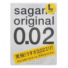 Презервативы Sagami №3 Original 0.02 L-size - 1 уп (3 шт)