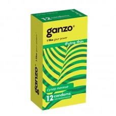 Презервативы GANZO Ultra thin №12 ультратонкие -1 уп (12 шт)