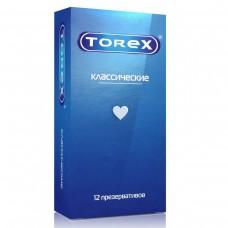 Презервативы классические гладкие Torex, 12 шт