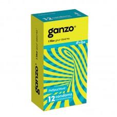 Презервативы GANZO Ribs №12 ребристые -1 уп (12 шт)