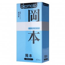 Презервативы OKAMOTO Skinless Skin Super Lubricative №10 с обильной смазкой -1 уп (10 шт)