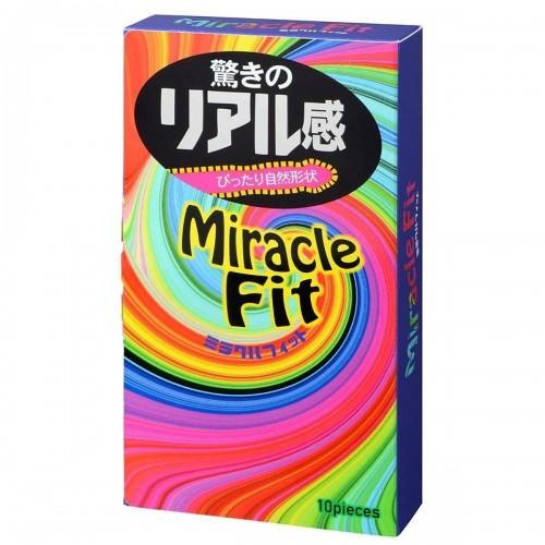 Презервативы с сужающимися зонами Sagami №10 Miracle Fit - 1 уп (10 шт)