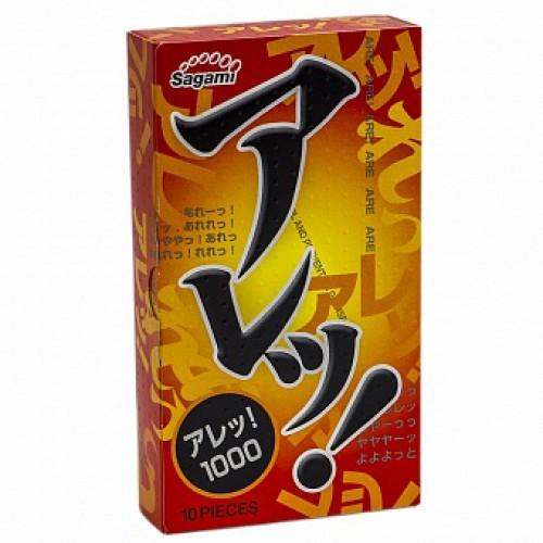Презервативы с мелкими точками №10 Super Dotts One Stage Sagami - 1 уп (10 шт)