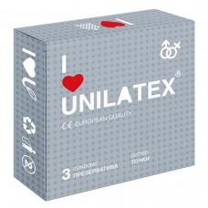 Презервативы с точками Unilatex® Dotted 1 уп (3 шт)