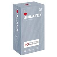 Презервативы с точками Unilatex® Dotted 1 уп (12+3 шт)
