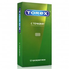 Презервативы со стимулирующими точками Torex, 12 шт
