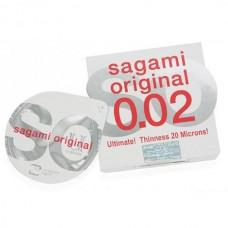 Презервативы Sagami №1 Original 0.02 - 1 уп (1 шт)