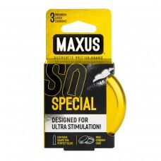 Презервативы в железном кейсе точечно-ребристые MAXUS Special №3