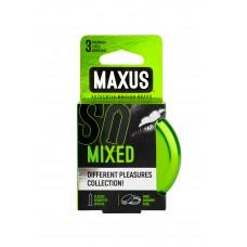 Презервативы в железном кейсе набор MAXUS Mixed №3
