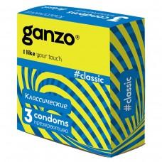 Презервативы GANZO Classic №3 классические -1 уп (3 шт)
