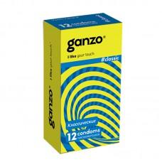 Презервативы GANZO Classic №12 классические -1 уп (12 шт)