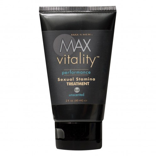 Крем для потенции Max Vitality на основе травяной виагры 60 мл