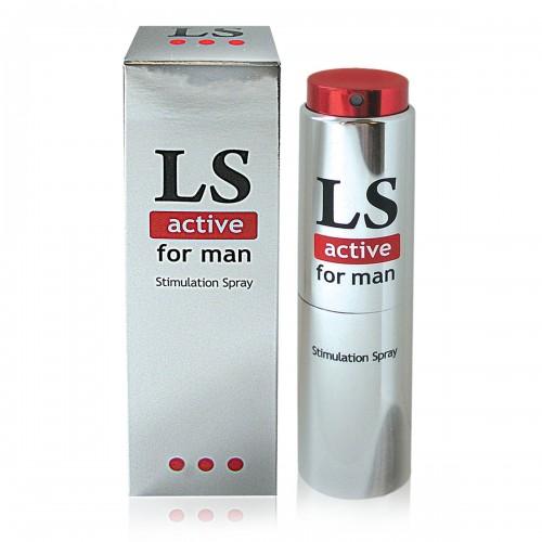 "Спрей-стимулятор ""LOVESPRAY ACTIVE"" для мужчин 18 мл"
