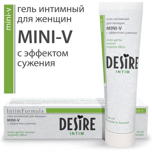 Сужающий гель для женщин DESIRE MINI-V 30 мл