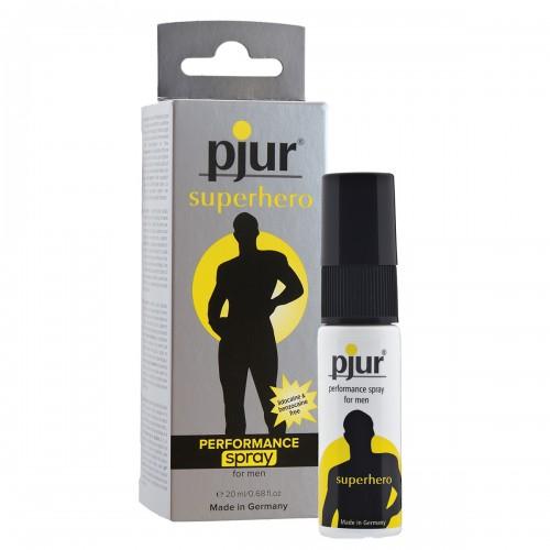 Пролонгирующий мужской спрей pjur® superhero spray 20 ml