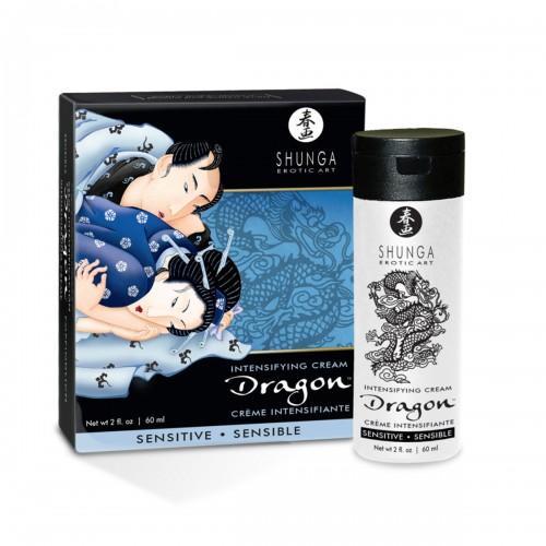 Крем для усиления ощущений Shunga Dragon Sensitive, 60 мл