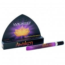 Возбуждающий массажный гель для клитора WICKED AWAKEN 8,6 ml