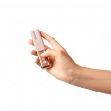 Двухмоторный мини-вибратор Le Wand Deux розовое золото