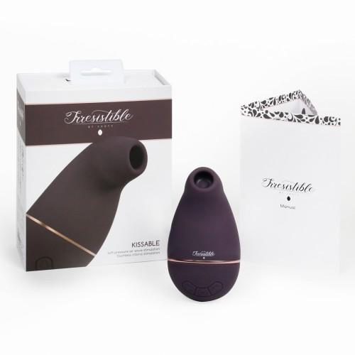 Женский нежный массажер Irresistible Kissable Purple