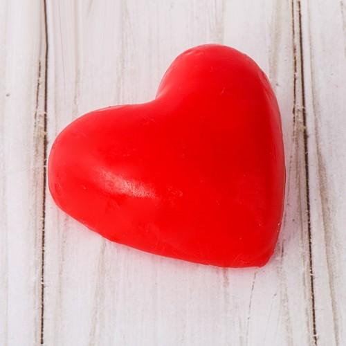 """Романтичная свеча-сердце """"Люблю тебя"""""""