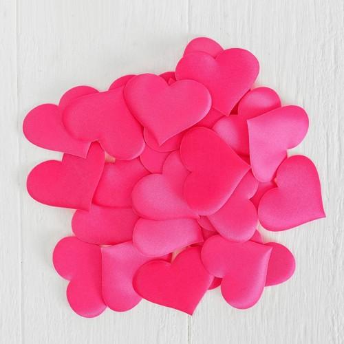 Набор декоративных сердец, 25 шт