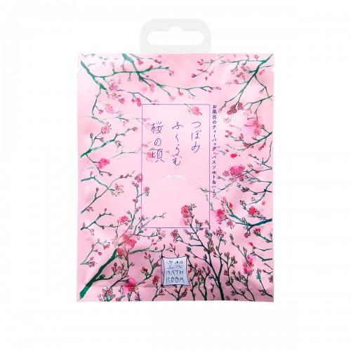 """Соль-саше для ванн """"Цветущие бутоны сакуры"""" с ароматом сакуры 30 г"""