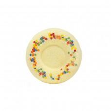"""Бурлящий шар для ванн """"Медовый пончик"""" 60 г"""
