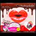 Маска-патч для губ гидрогелевая Клубничный шоколад 1 шт