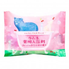 Расслабляющая соль-таблетка для ванн с ароматом цветущей сакуры 40 г