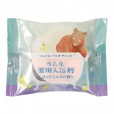Расслабляющая соль-таблетка для ванн с ароматом юдзу 40 г