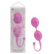 Каплевидные вагинальные шарики L'AMOUR розовые